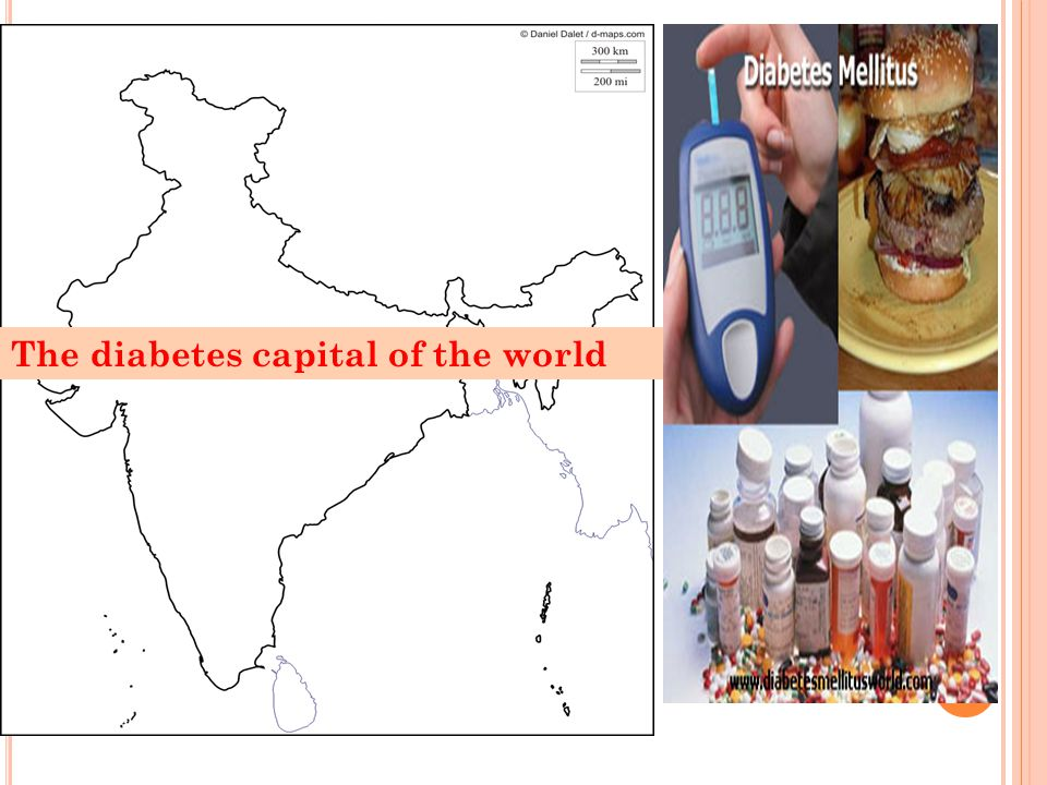 E STIMATED N UMBER OF DIABETES IN I NDIA 23