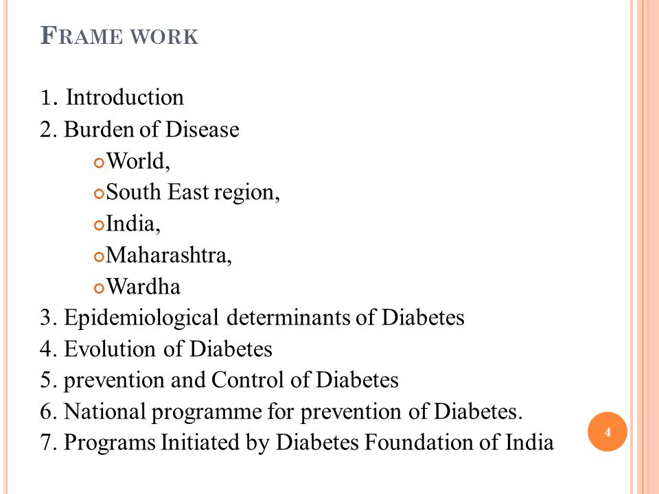 I NRTODUCTION : India has a long history with diabetes mellitus and first described by Charaka and Sushruta (1500 BCE).