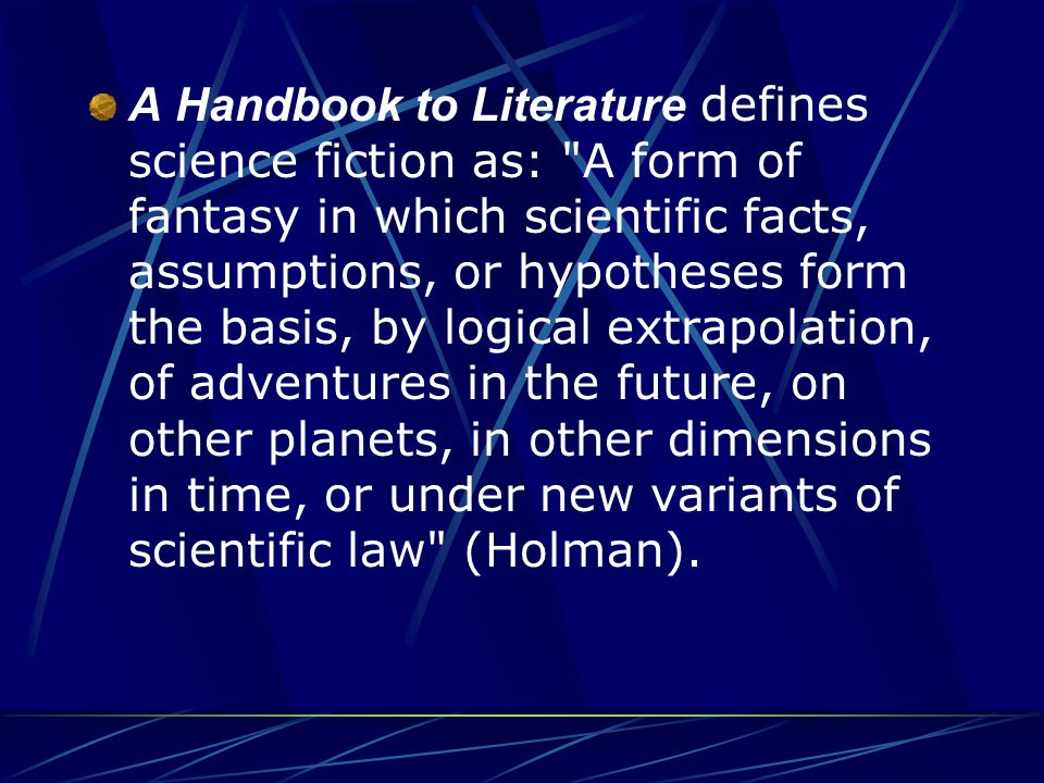 Science Fiction VS.