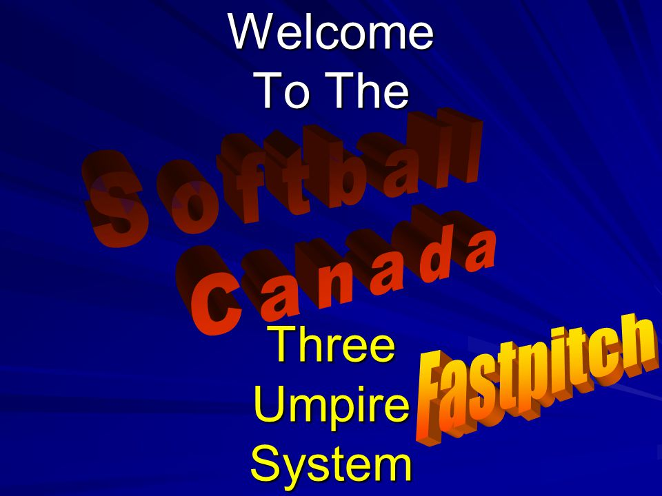 Welcome To The Three Umpire System