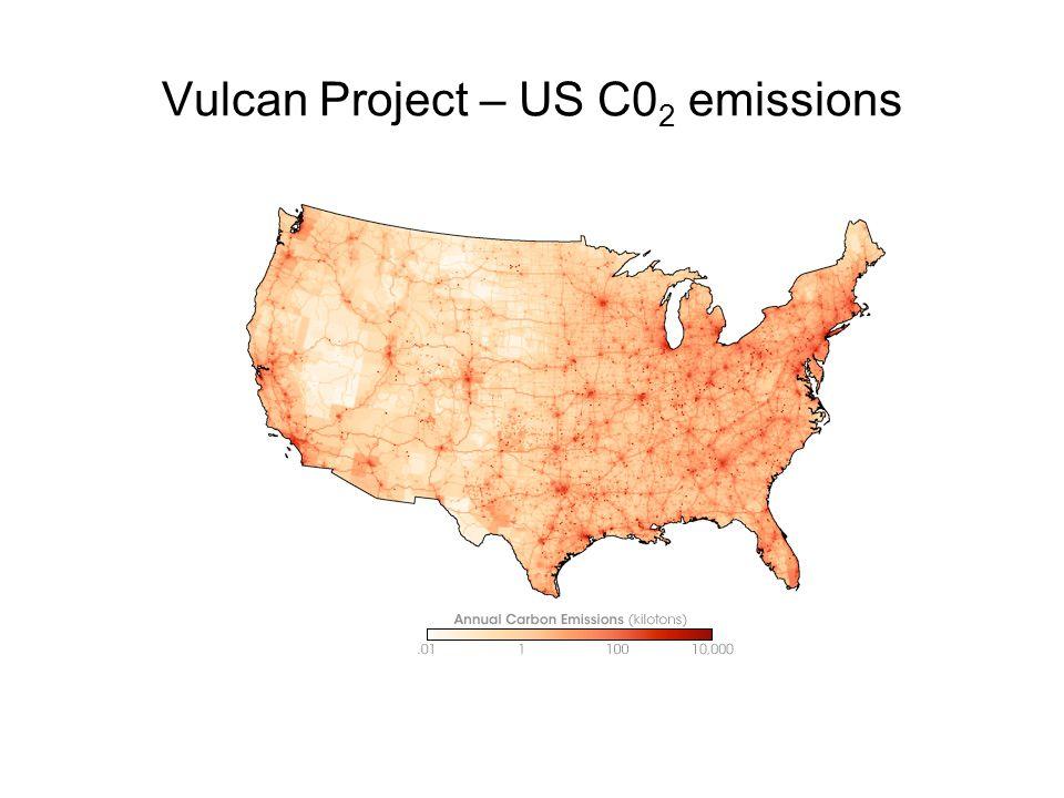 Vulcan Project – US C0 2 emissions