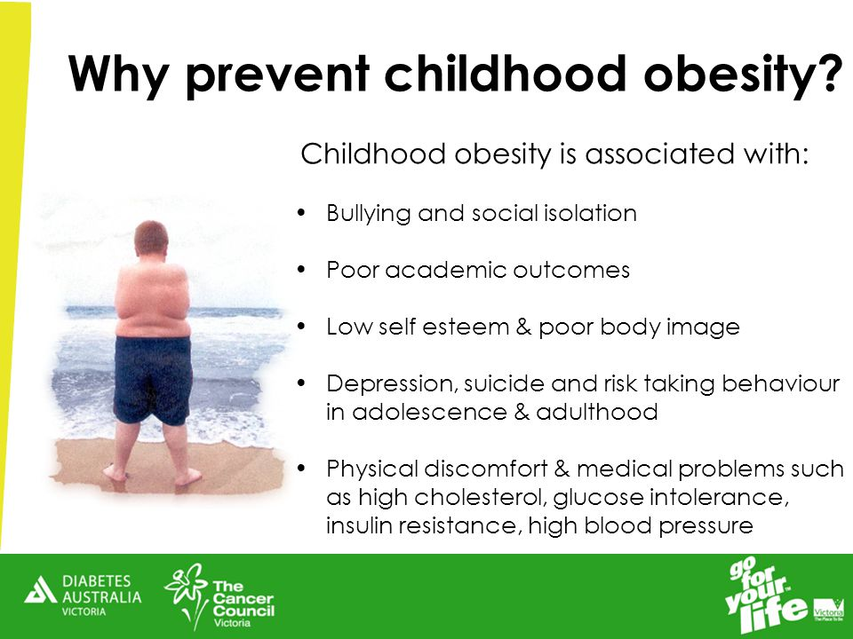 Why prevent childhood obesity.