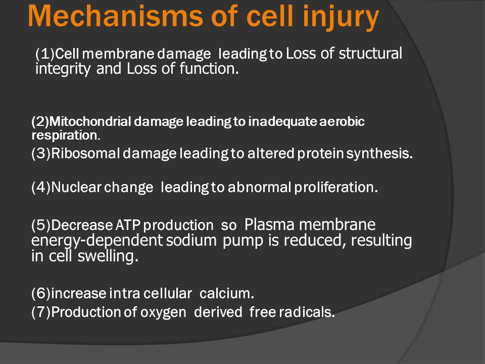 Types of intracellular accumlations:  Cloudy swelling and hydropic changes: Cytoplasmic swelling and vacuolation due to intracellular accumulation of water and electrolytes secondary to failure of energy-dependent sodium pump.