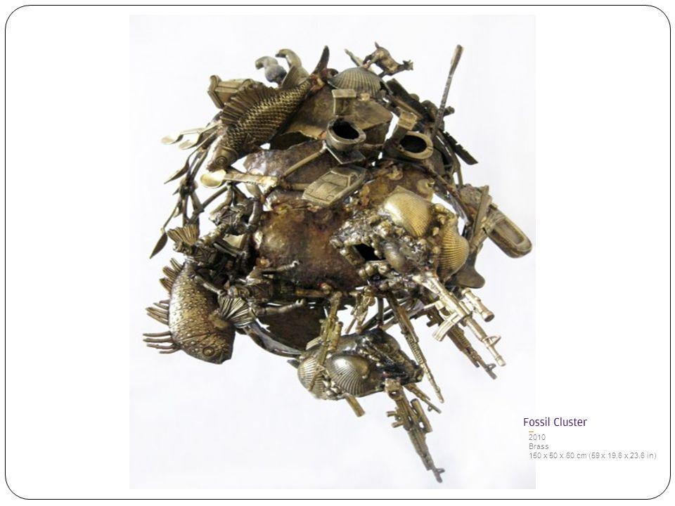 2010 Brass 150 x 50 x 60 cm (59 x 19.6 x 23.6 in)