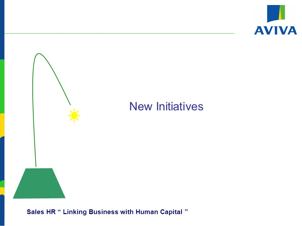 New Initiatives Sales HR Linking Business with Human Capital