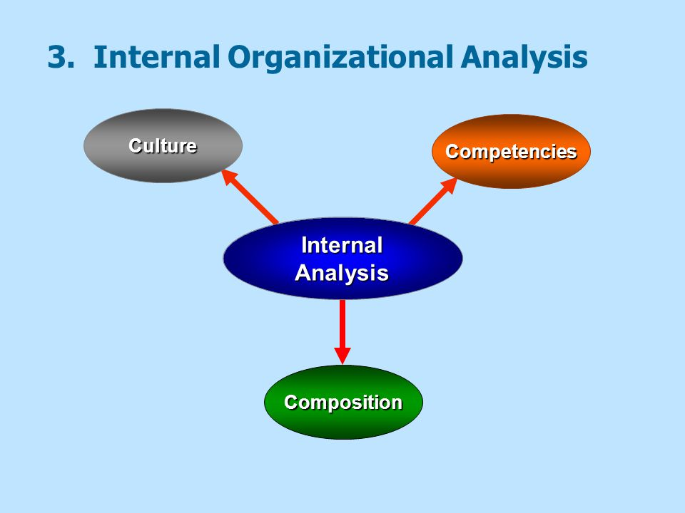 Scanning the Internal Environment Cultural Audits  Audits of the culture and quality of work life in an organization.