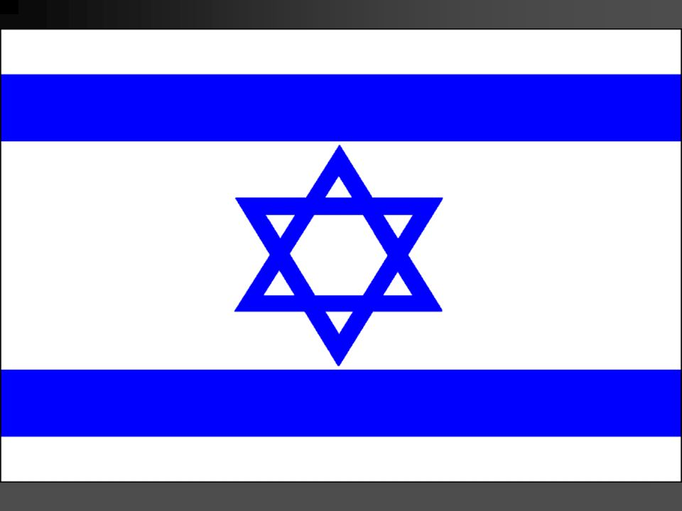 Flag of Israel slide