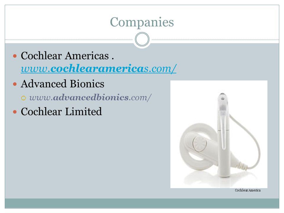 Companies Cochlear Americas.