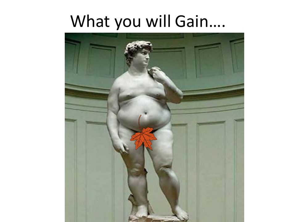What you will Gain….