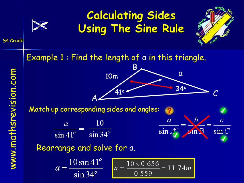 F E D F E D 1-Sep-14Created by Mr Lafferty Maths Dept Labelling Triangles www.mathsrevision.com S4 Credit d e f Have a go at labelling the following triangle.