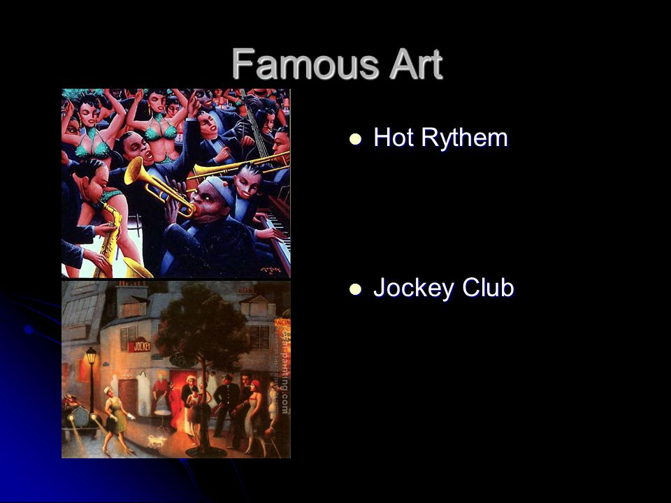 Famous Art Hot Rythem Hot Rythem Jockey Club Jockey Club