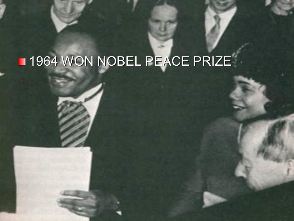 1964 WON NOBEL PEACE PRIZE