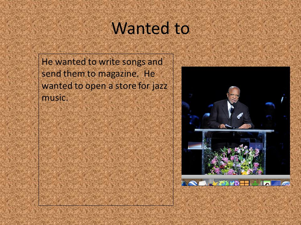But He did not have any money to start his record label.
