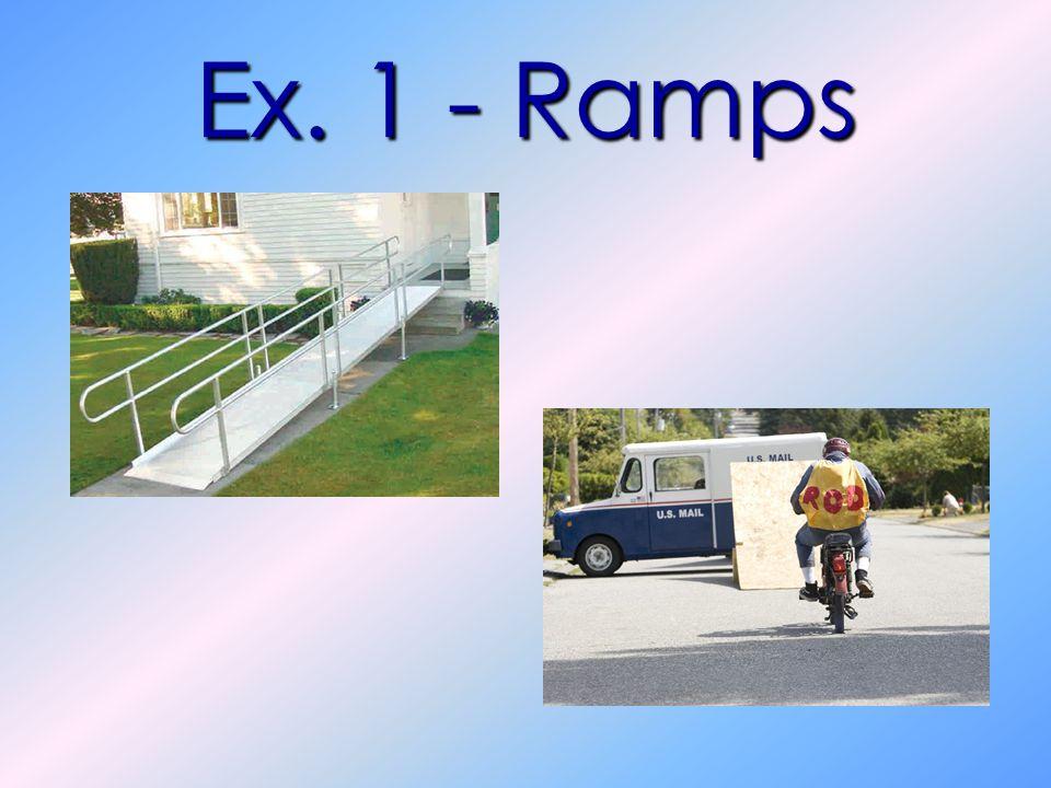 Ex. 1 - Ramps