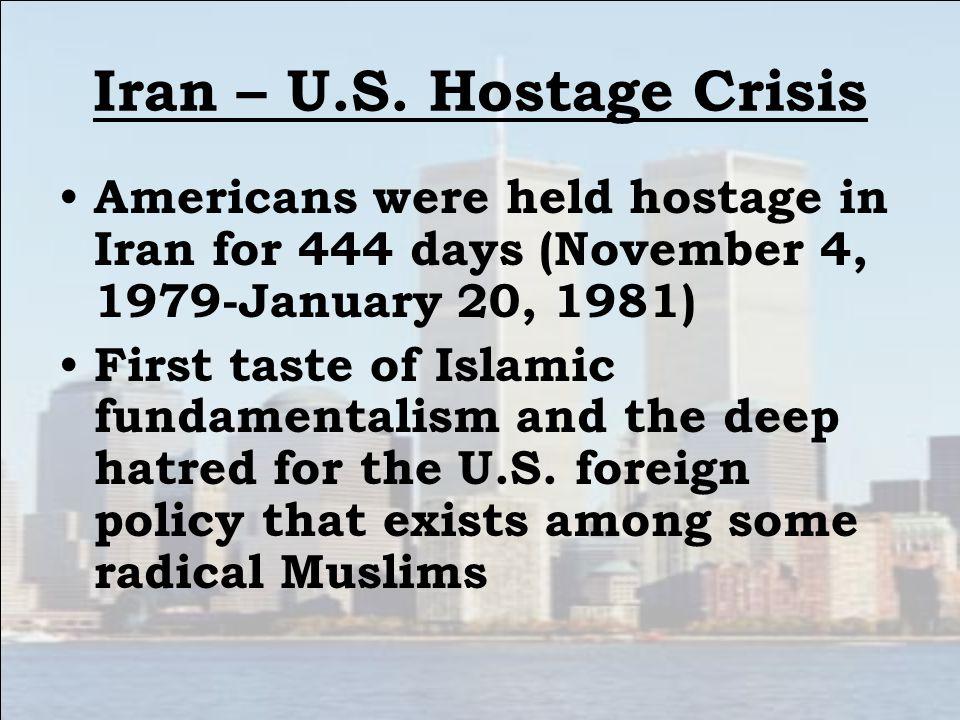 Iran – U.S.