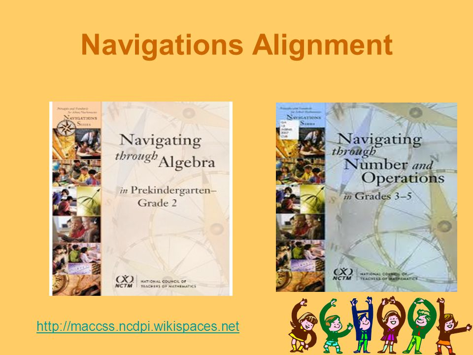 Navigations Alignment http://maccss.ncdpi.wikispaces.net
