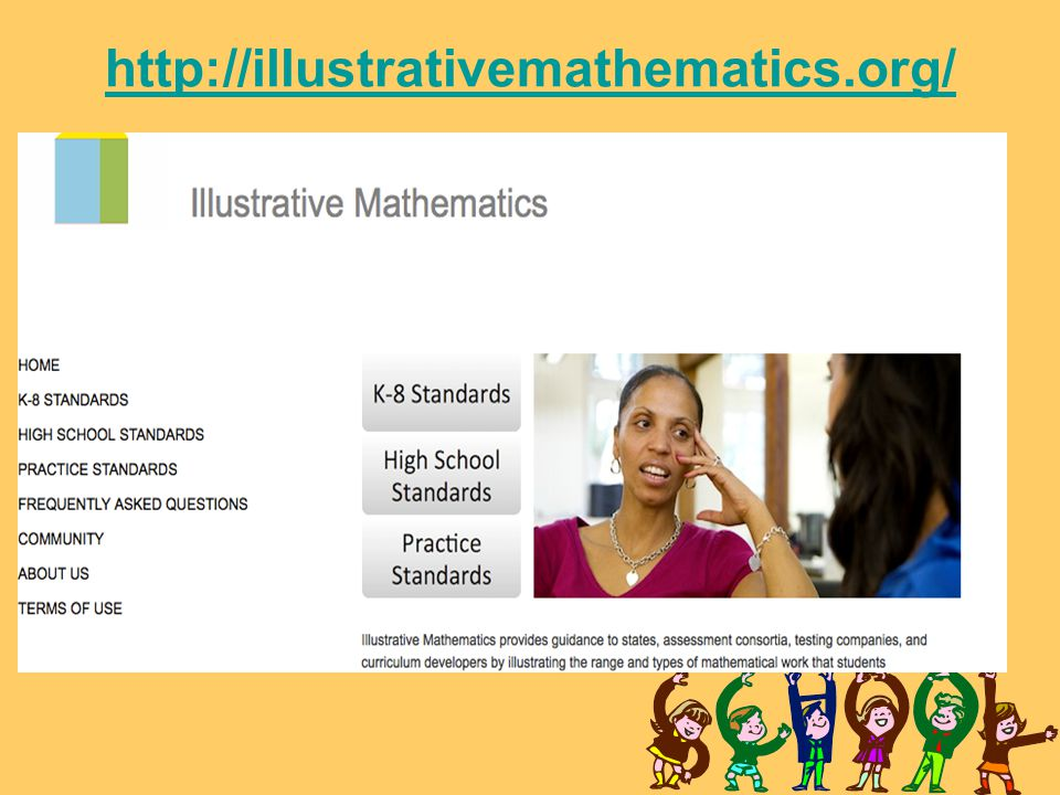 http://illustrativemathematics.org/