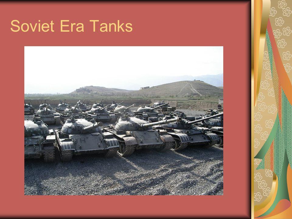 Soviet Era Tanks