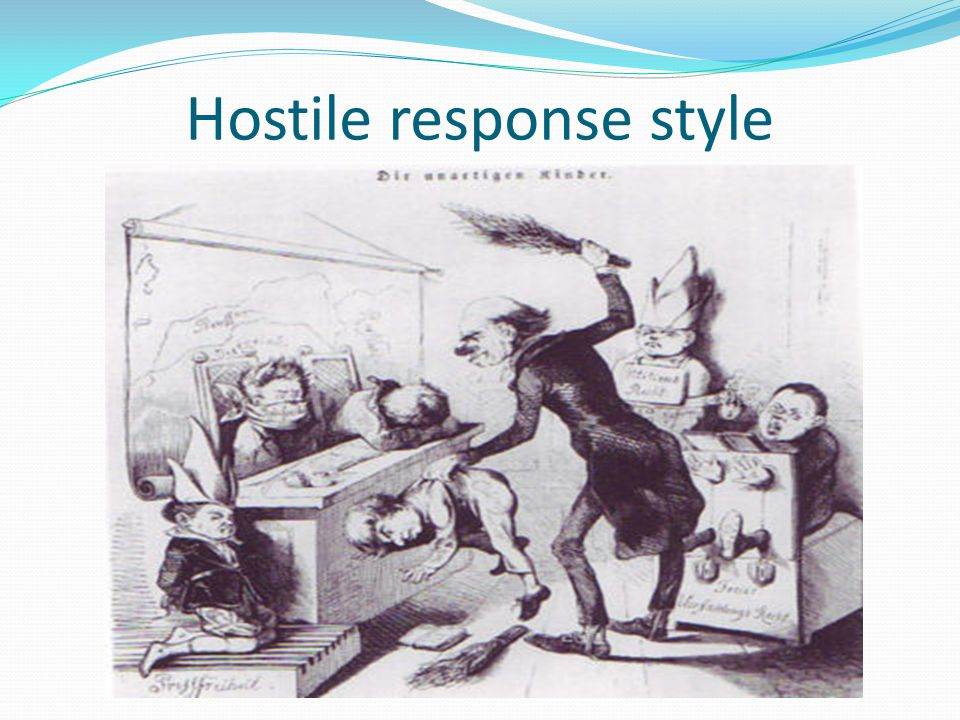 Assertive response style NEED PIC HERE FOR ASSERTIVE RESPONSE