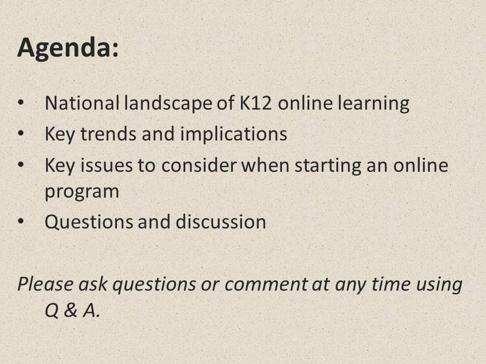 Online and Blended Course Definitions Allen & Seaman, 2007