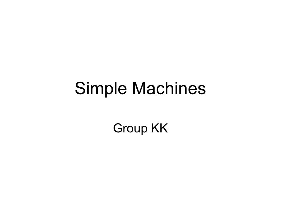 Simple Machines Group KK