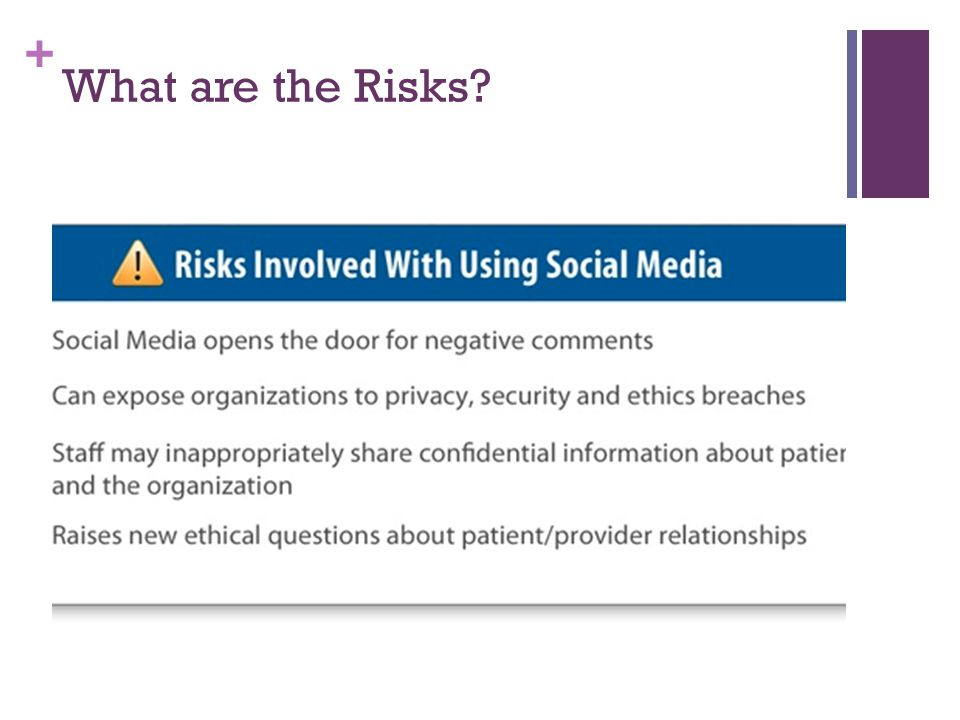 + What are the Risks?