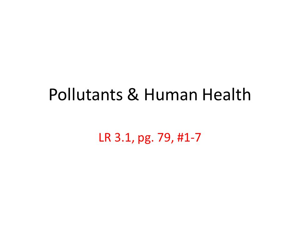 1.What is effluent, & what risks does it pose to humans & the environment.