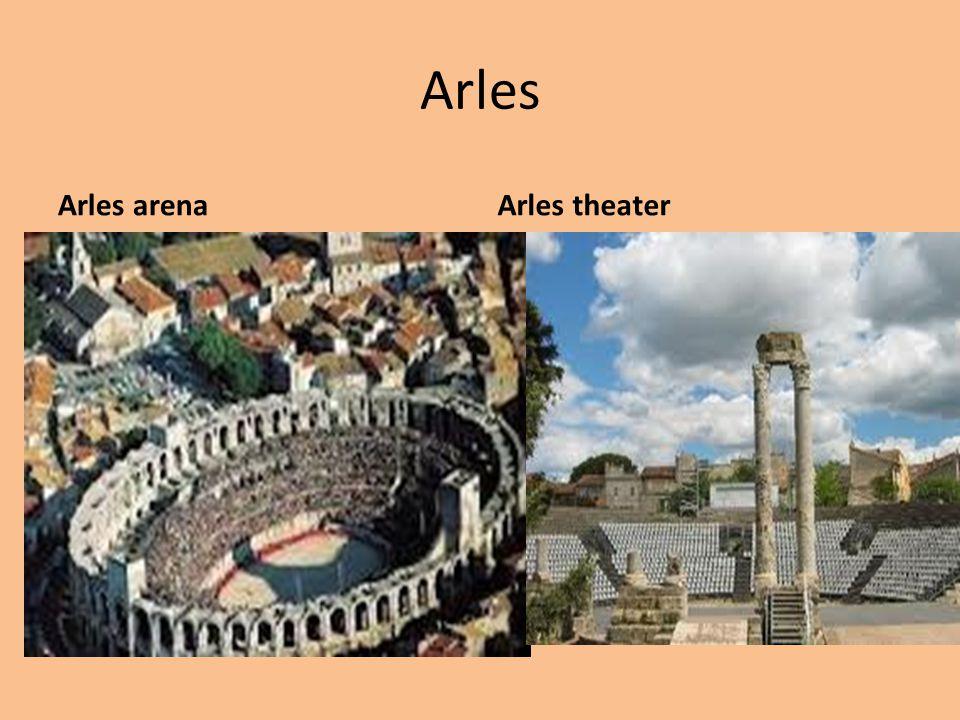 Arles Arles arenaArles theater