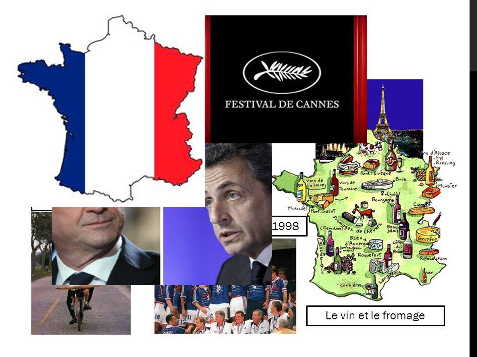 LA FRANCE Paris, la capitale Les baguettes Champion du Monde en 1998 Le vin et le fromage Président élu Hollande, Président sortant Sarkozy