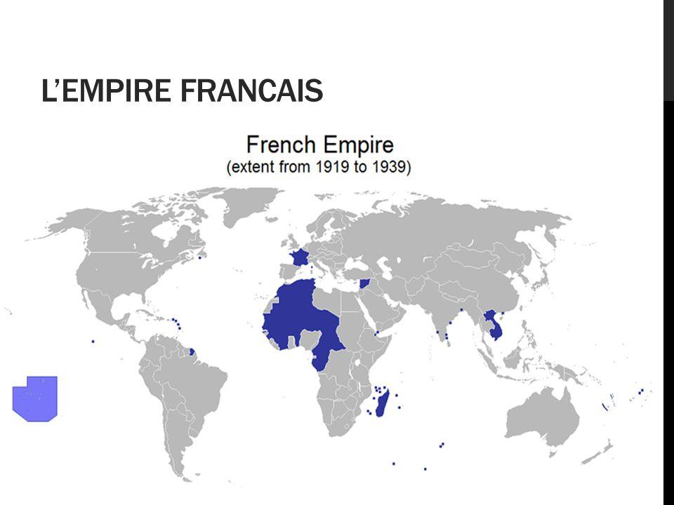 L'EMPIRE FRANCAIS