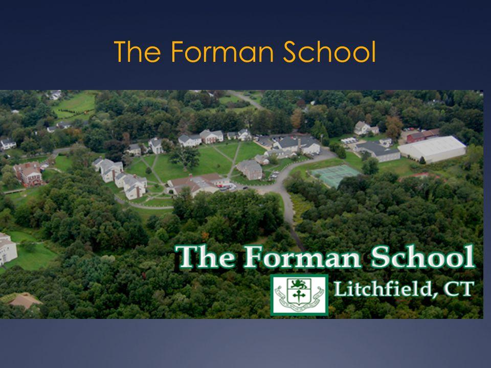 The Forman School