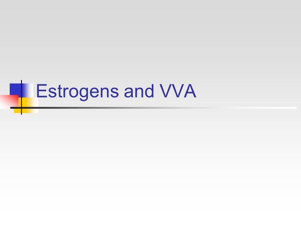 Estrogens and VVA