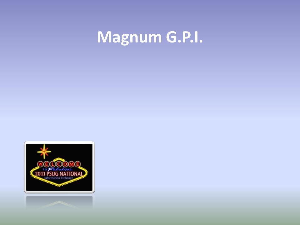 Magnum G.P.I.