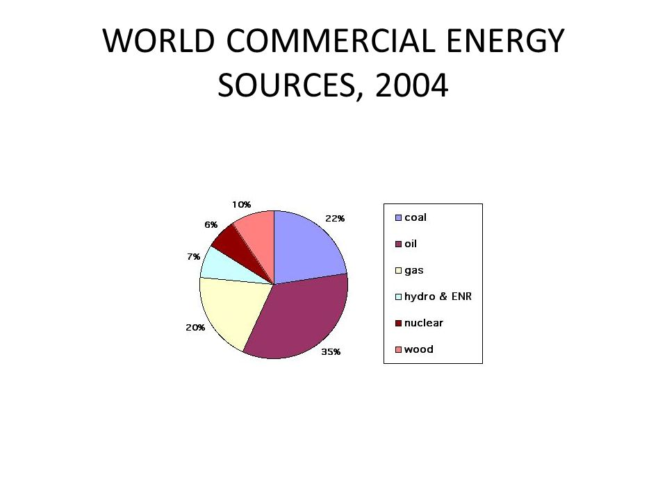 WORLD COMMERCIAL ENERGY SOURCES, 2004