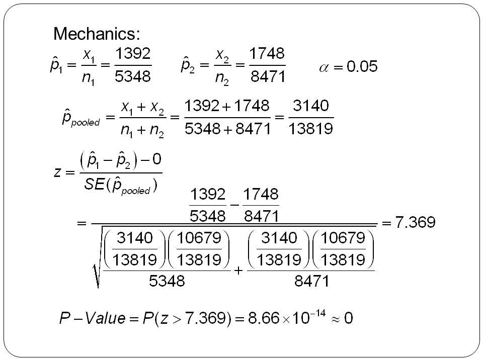 Mechanics: