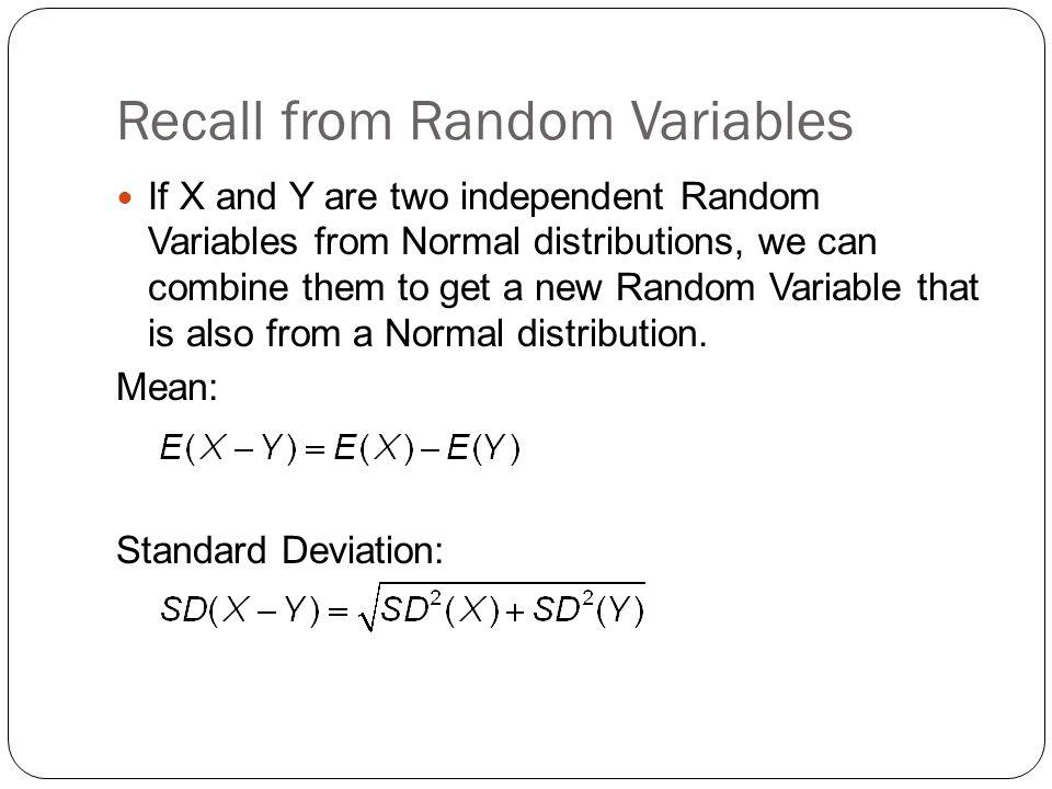 Pooled Standard Deviation: Test Statistic: P-Value = P(z ___)