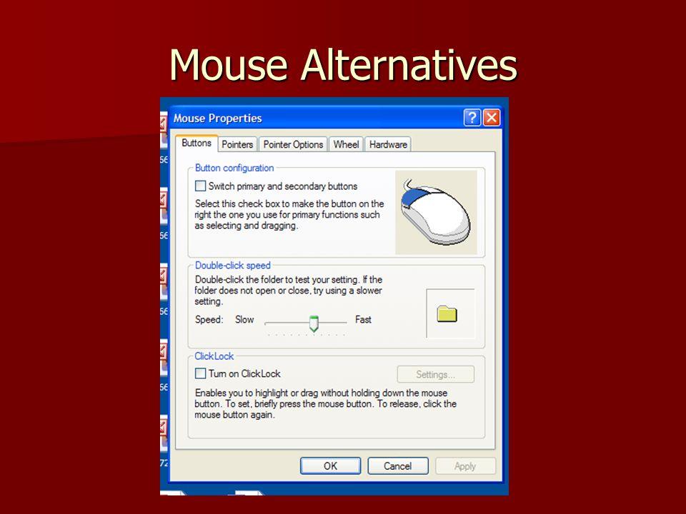 Mouse Alternatives