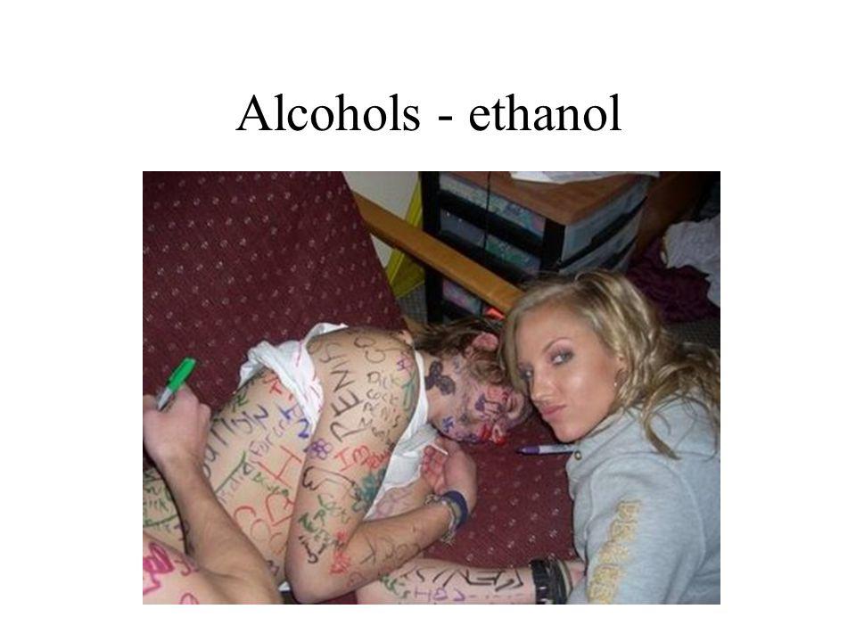 Alcohols - ethanol