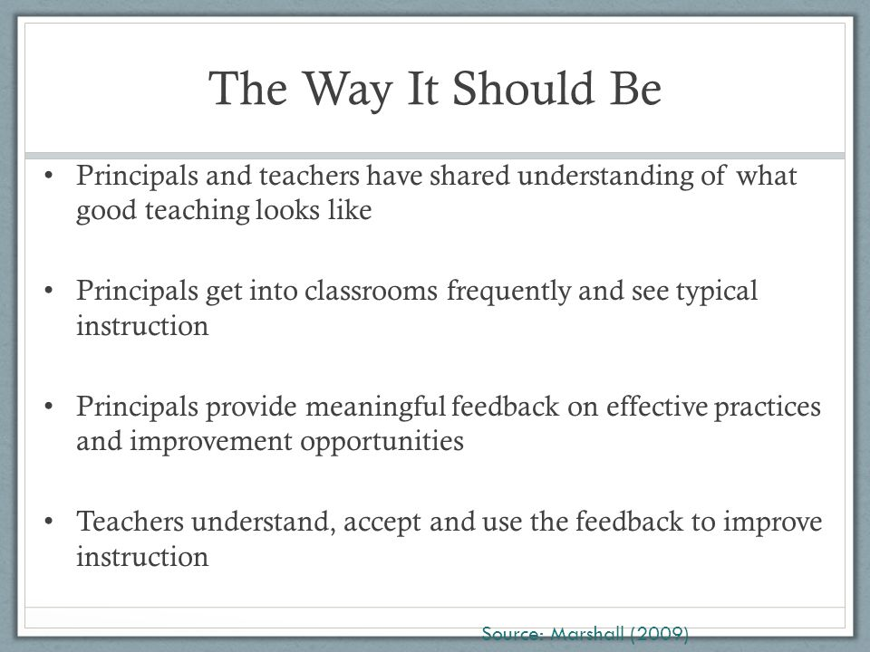Stakeholder Feedback Reliability of Students' Ratings Peterson (2000), in a review of research studies, found that student ratings of teachers tend to be consistent among students and reliable from one year to the next.