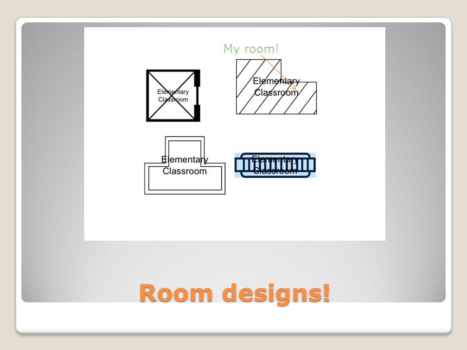 Room designs! My room!
