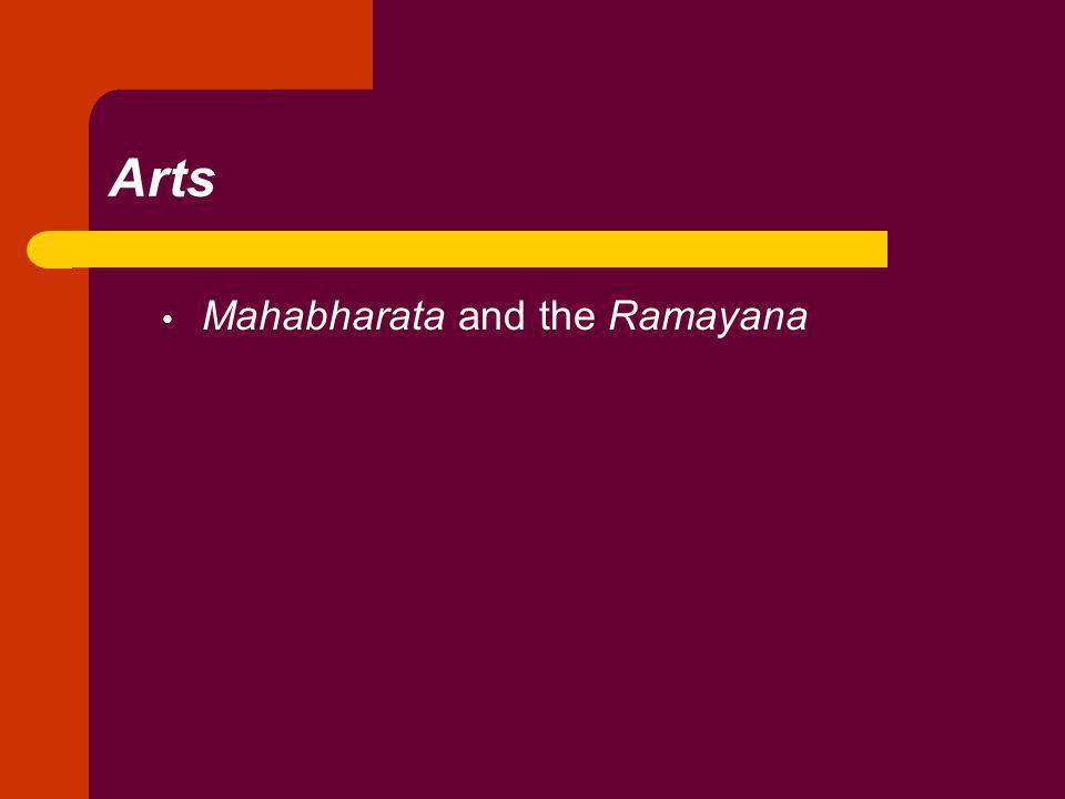 Arts Mahabharata and the Ramayana