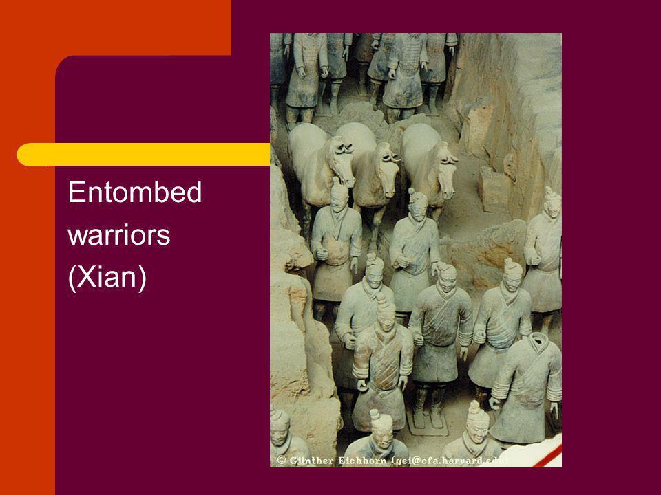 Entombed warriors (Xian)