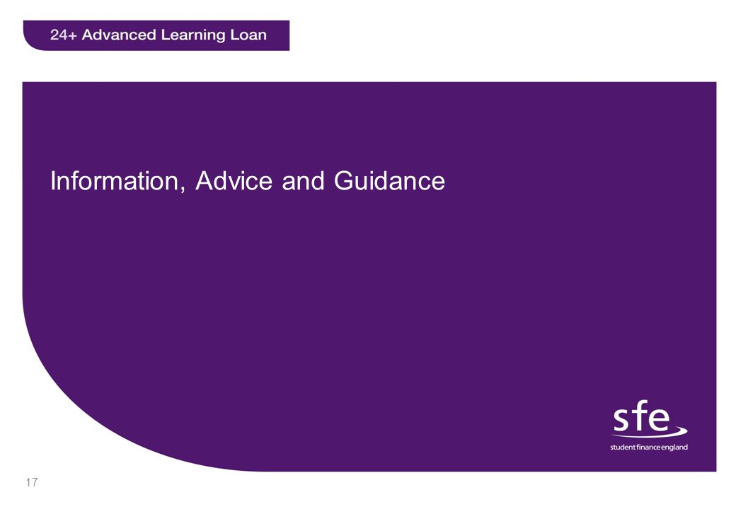 Information, Advice and Guidance 17