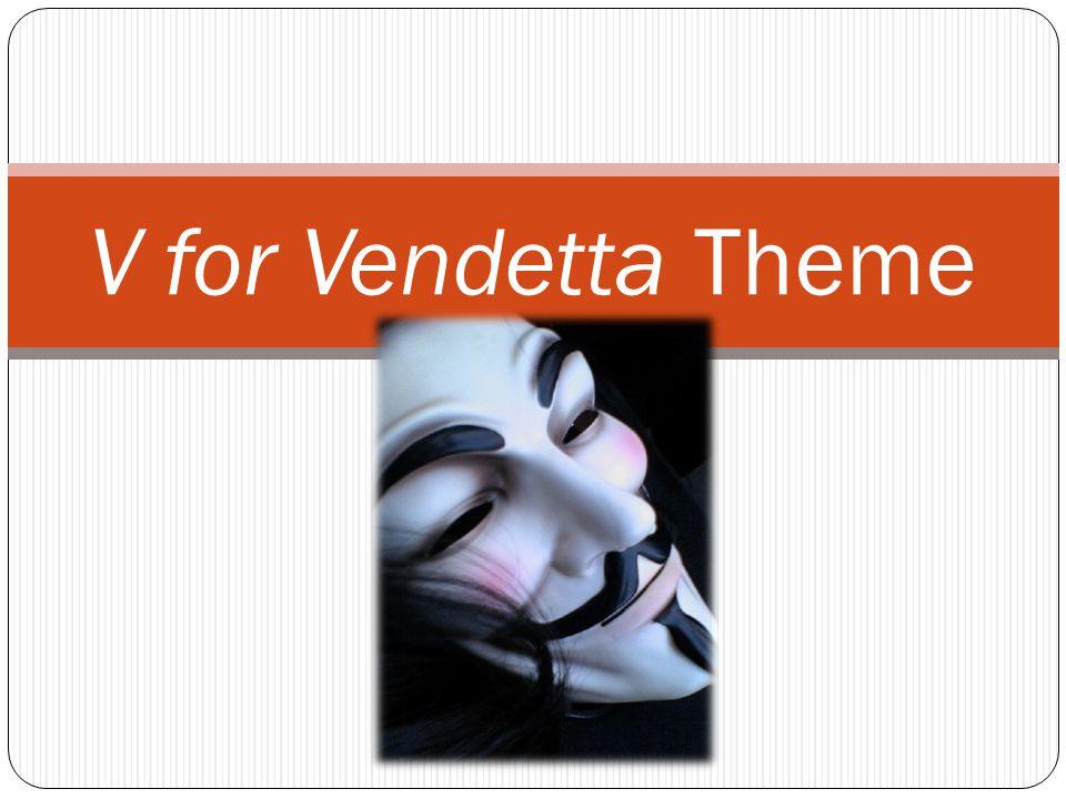 V for Vendetta Theme