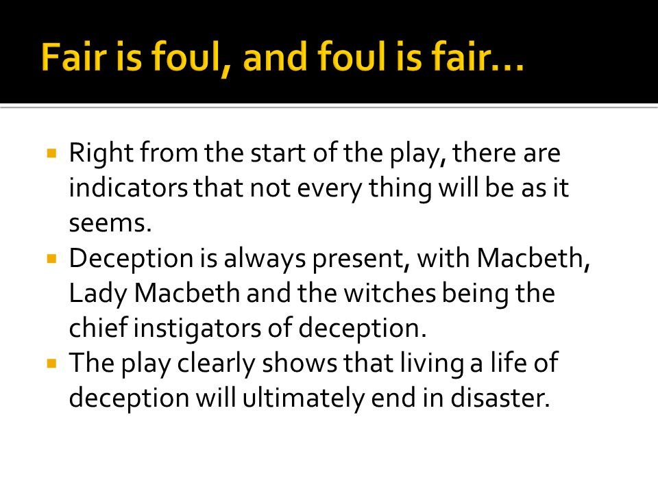 Macbeth and Lady Macbeth are shown in a fearful huddle, plotting the murder of Duncan.