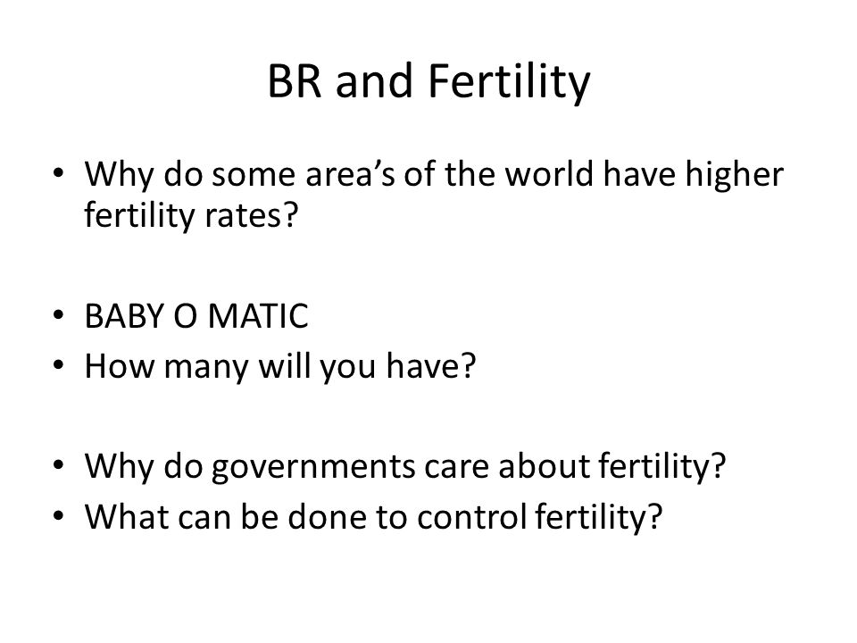 What is Fertility.