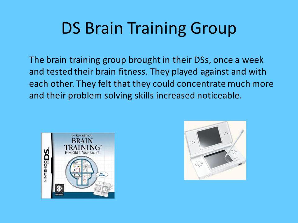 Brain Training How does brain training work.