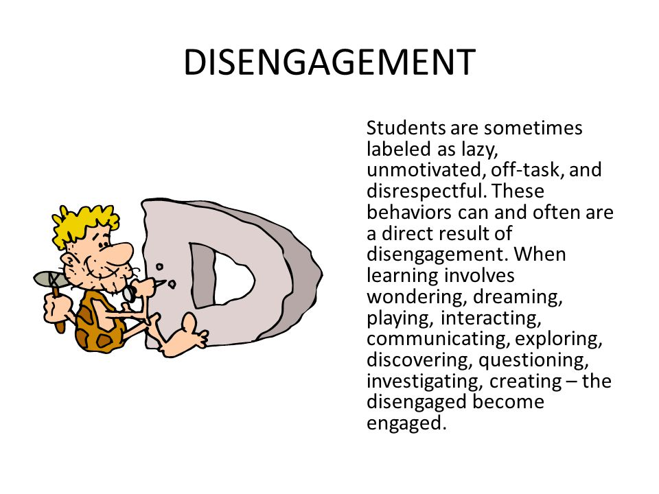 OUTSIDE To really engage students, we must bring and allow some of the their outside into the classroom (don't groan!).