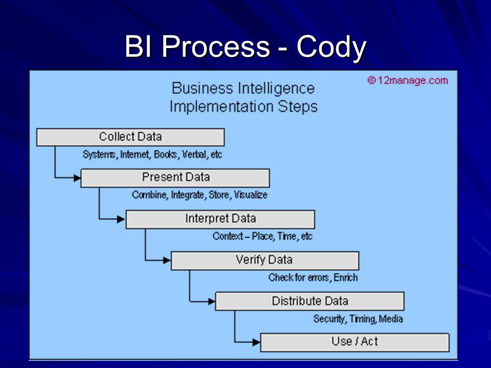 BI Process - Cody