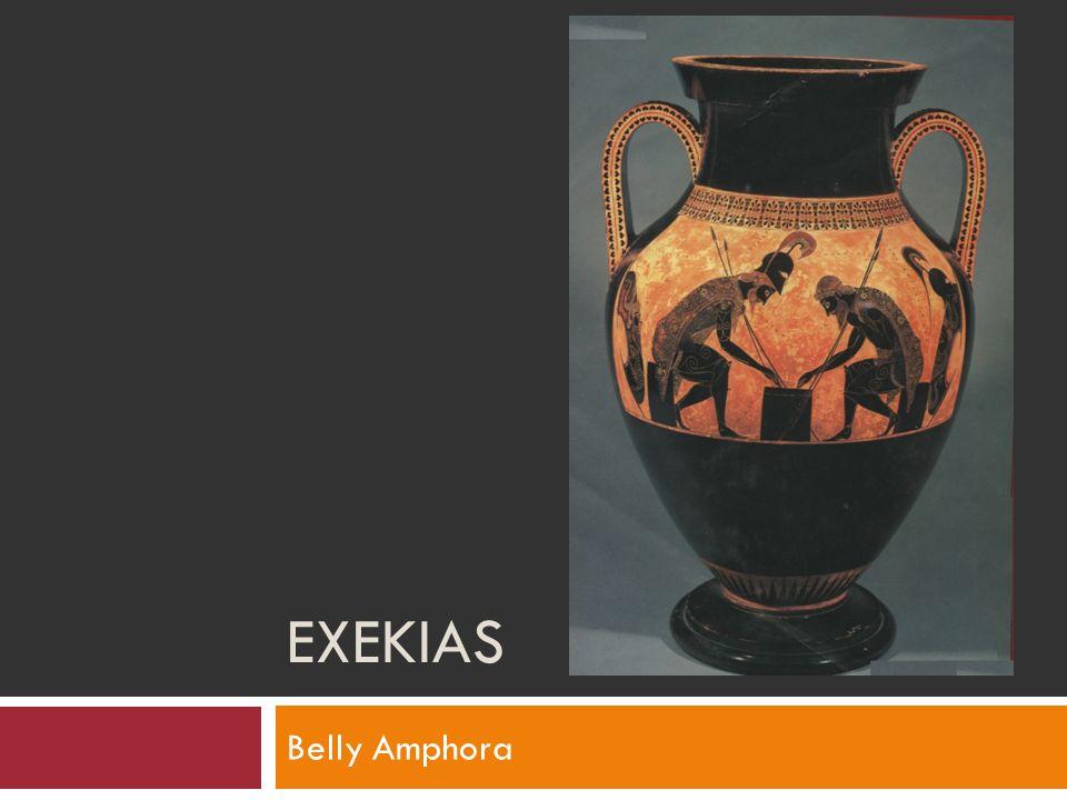 EXEKIAS Belly Amphora